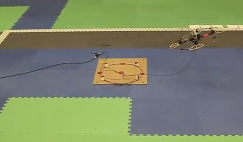 Quadcopters: Wireless Power Source