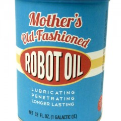 Mother's Old-Fashioned Robot Oil