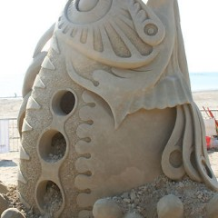 Seventh Annual Revere Beach Sand Sculpting Festival