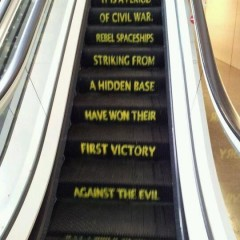 In an Escalator Far, Far Away